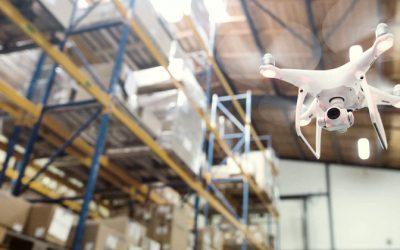 drones na gestão de armazéns: vantagens 1