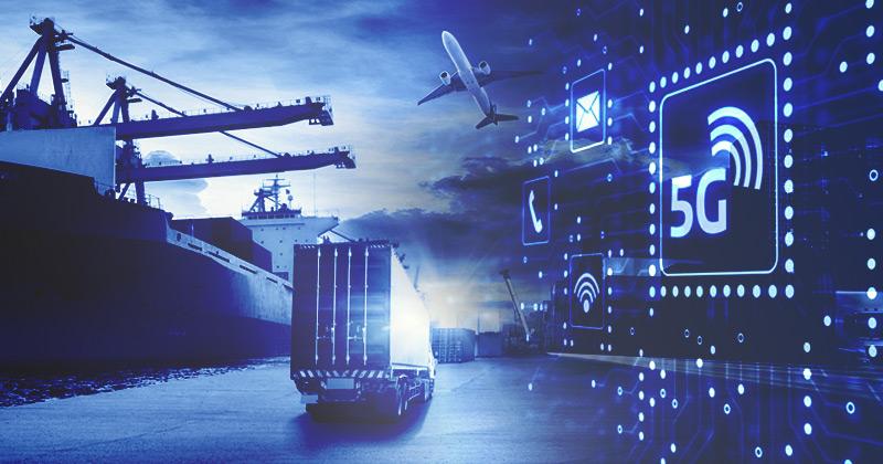redes 5g nova era logistica conectada