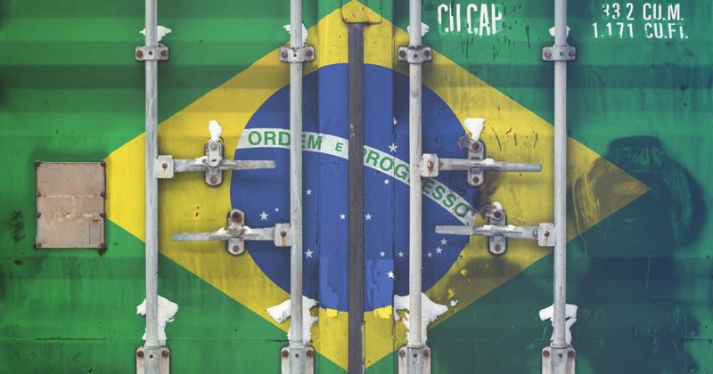 como exportar para o brasil