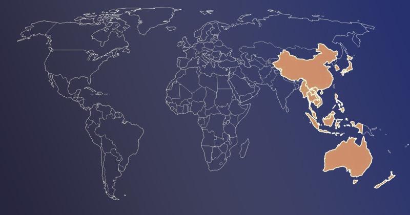 acordo comercial entre a china e os países da ásia pacífico