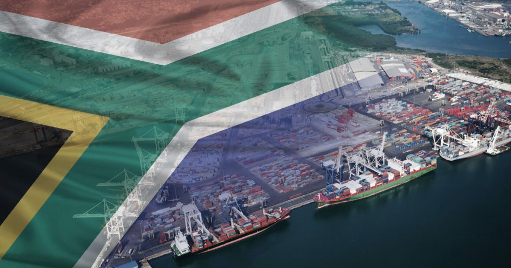 exportar para a África do Sul 1
